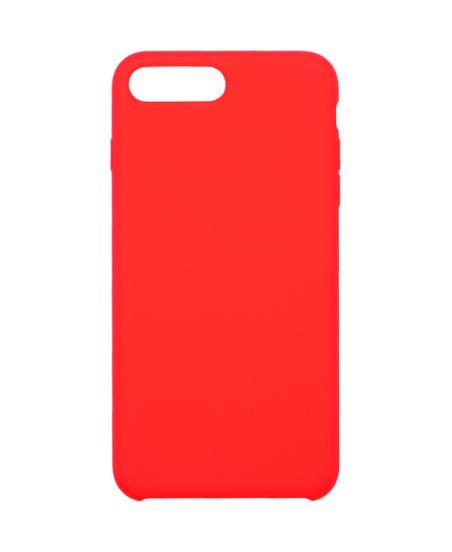 Чехол для iPhone InterStep iPhone 8/7 Plus SOFT-T METAL ADV красный